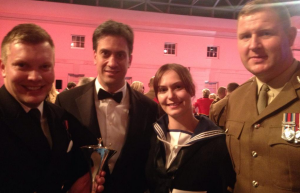 Ed Miliband at the Millies