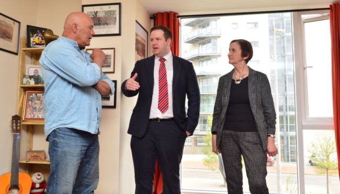 """""""Wales is leading the way in housing solutions for veterans"""" says Labour's Shadow Secretary of State forDefence"""