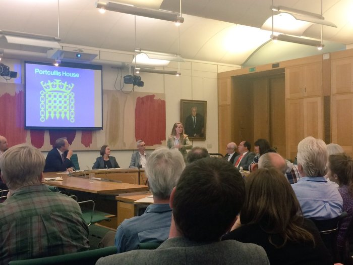 Great post-election discussion in PortcullisHouse